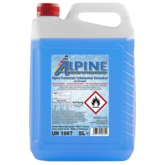 Nemrznúca kvapalina do ostrekovačov 5L Alpine -50 ° C