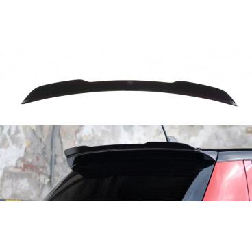 Predĺženie spojlera pre Škoda Fabia RS Mk2, Maxton Design (čierny lesklý plast ABS)