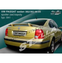 VOLKSWAGEN PASSAT sedan 3B2 96-05 spoiler zad. kapoty (EU homologace)