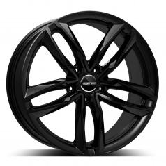 Alu koleso GMP Atom black 9,0x21 5x112 ET26 (stredová diera 66,5 mm, zaťaženie 1 kolesa max. 900 kg)
