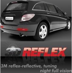 Reflexná samolepiaci fólia 3D reflex 2 ks