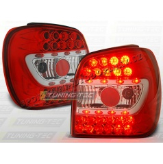 VW Polo 6N 1994-99 zadné LED lampy RED white (LDVW66)