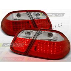 MERCEDES CLK W 208 1997-02 ZADNÍ LED LAMPY RED WHITE (LDME09)