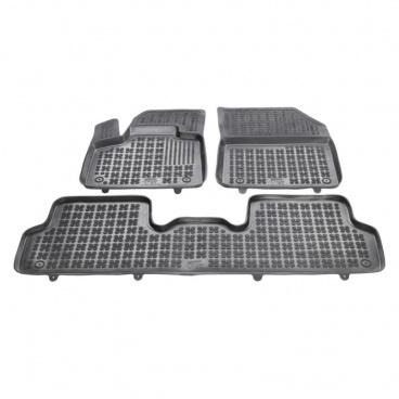 Gumové autokoberce, Citroen DS7 Crossback, 2018+, verzia bez chrbta. tunela