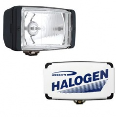 Prídavné diaľkové svetlo halog. malé 2 ks - + krytka Wesa univerzal 138 x 78 mm