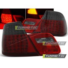 BMW E46 04.1999-03.2003 Coupe zadné LED lampy red smoke (LDBM70)