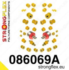 Honda CRX 1992-97 StrongFlex Sport kompletní sestava silentbloků 36 ks