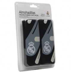 Originálne návleky na pásy Real Madrid sivá, čierna
