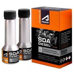 Čistiace prísada do paliva pre dieselové motory Atómium A-prohim SGA 2x50 ml