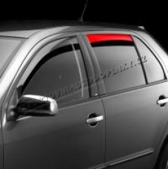 Veterné clony (ofuky) - zadné, Škoda Felicia Limousine, Combi