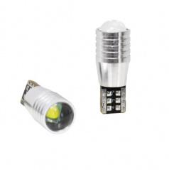 Žiarovka 1 LED T10 Canbus, 1W W21x9,5D 2ks