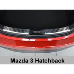Nerez kryt- ochrana vnitřního zavazadlového prostoru Mazda III Htb.