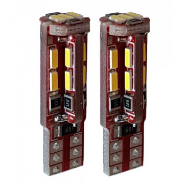 Žiarovka 19 LED T10W2,1x9,5D biela 12V CAN-BUS