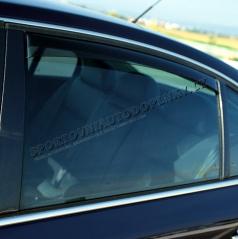 Veterné clony (ofuky) - zadné, Škoda Superb