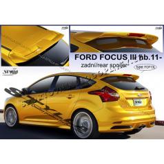 Ford Focus III htb 2011- zadný spoiler (EÚ homologácia)