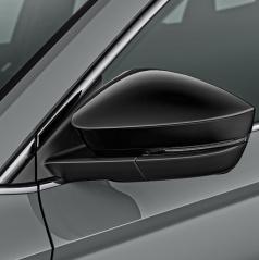 Originální dekorativní černé kryty zrcátek Škoda Kodiaq, Karoq