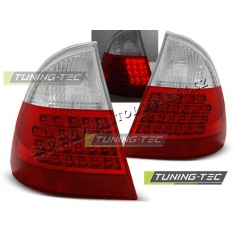 BMW E46 1999-2005 zadné LED lampy red white (LDBM59)