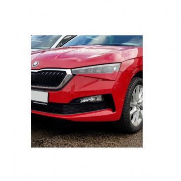 Mračítka Sportive v originál Škoda farbe Velvet red (F3P) - Škoda Scala
