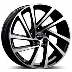 Alu koleso GMP WONDER black diamond 7,0x17 5x100 ET43