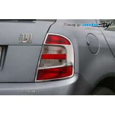 Škoda Fabia rámček zadných svetiel - chróm (r.v. do 8/2004)