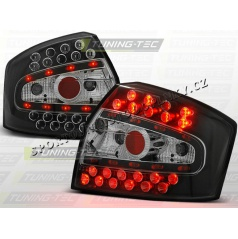 AUDI A4 (B6) SEDAN 2000-04 zadné LED lampy BLACK (LDAU32)