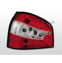 AUDI A3 (8L) 1996-03 zadné číre lampy RED WHITE (LTAU23)