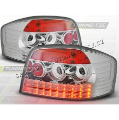 AUDI A3 2003-08 zadné LED lampy CHROME (LDAU19)