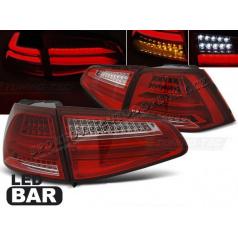 VW Golf 7 2013- zadní lampy red white LED BAR (LDVWG4)