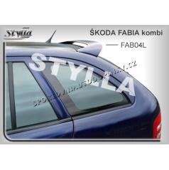 Škoda Fabia combi spoiler zadných dverí horný (EÚ homologácia)