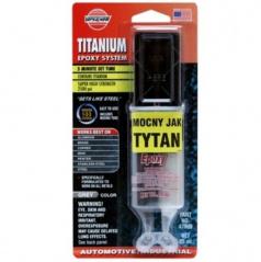 Titánové epoxidové 2-zložkové lepidlo s časticami titánu 25 ml