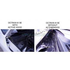 Škoda Octavia III - vzpery kapoty KI-R - pre aktívne kapotu