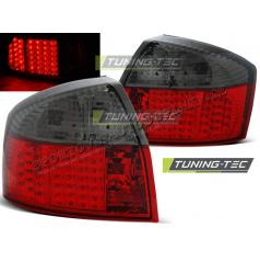 AUDI A4 10.2000-10.2004 zadné LED lampy RED SMOKE (LDAU80)