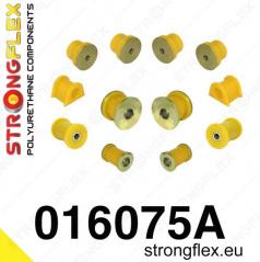 Alfa Romeo 156 Strongflex Šport zostava silentblokov len pre prednú nápravu 12 ks