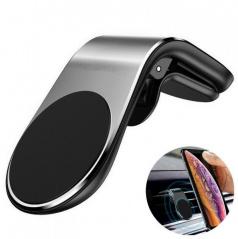 Magnetický držák mobilních zařízení na klips do ventilační mřížky