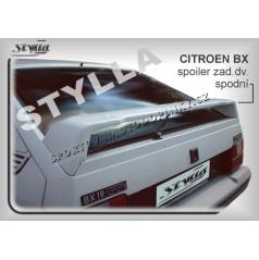 Citroen BX (82-93) spoiler zadných dverí spodnej (EÚ homologácia)