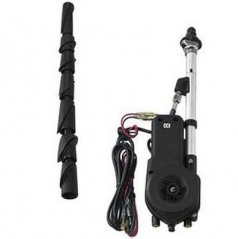 Anténa automatická, chróm max. 90 cm + redukcia