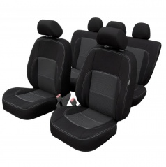 Veľmi kvalitné autopoťahy Dacia Duster III od 10/2017 (delená zadná sedačka)