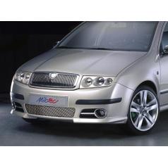 Rámčeky hmlových svetiel - ABS chróm, Škoda Fabia I Facelift 2004+