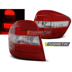 Mercedes M-Klasa W164 2005-2008 zadní LED lampy red white (LDME45)
