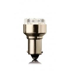 12 LED biela žiarovka jednovláknové BA 15S 21W 1 ks
