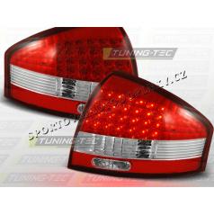 AUDI A6 (C5) SEDAN 1997-04 zadné LED lampy RED WHITE (LDAU03)