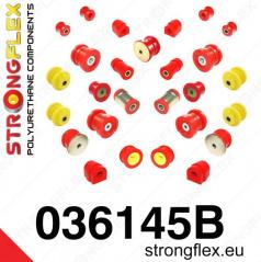 BMW rada 3 (E46) Strongflex kompletná zostava silentblokov 20 ks