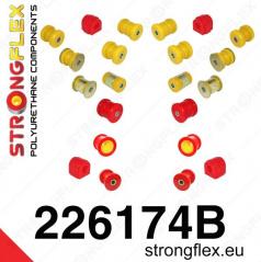 Audi TT 2007 -... Strongflex kompletná zostava silentblokov 22 ks
