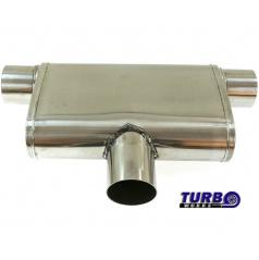 Športový výfuk TurboWorks dual (1 vstup / 2 bočné výstupy)