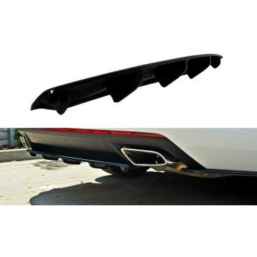Stredový spojler zadného nárazníka pre Škoda Octavia RS Facelift Mk3, Maxton Design (Carbon-Look)