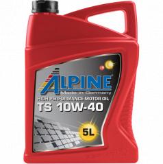 Motorový syntetický olej Alpine TS 10W-40