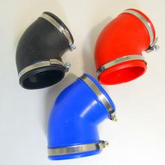 Univerzálne silikónové kolená 120 stupňov 70 a 77 mm