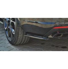 Bočné spoilery zadného nárazníka DTM - carbon look Škoda Octavia III RS