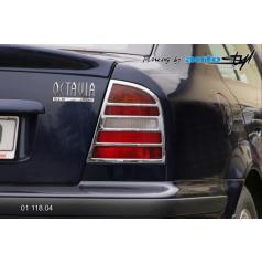 Rámček zadných svetiel - chróm Škoda Octavia I