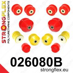 Škoda Superb 2002-08 Strongflex zostava silentblokov len pre prednú nápravu 12 ks